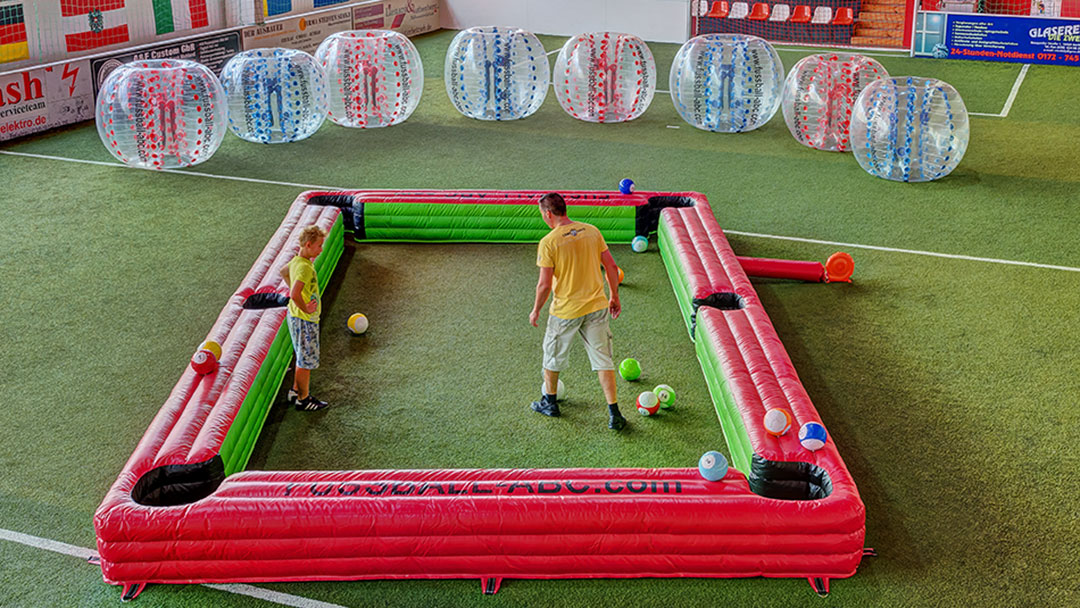 Fussball-ABC | Snooker Football | Billard-Fußball